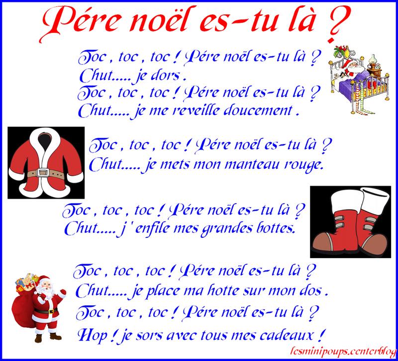 Comptine Enfant encequiconcerne Chansons Du Pere Noel
