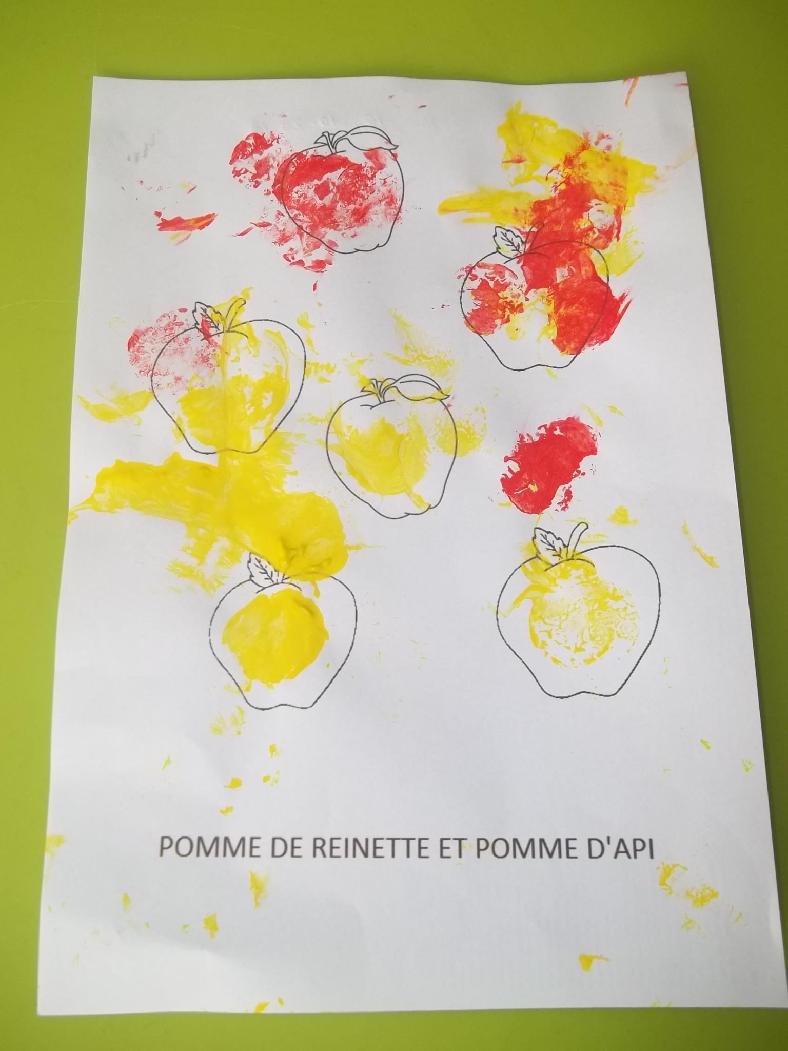 Comptine Illustree tout Pomme De Renette