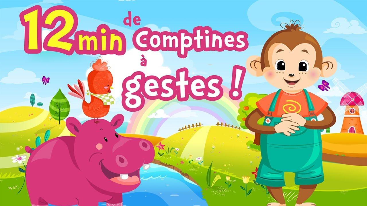 Comptines À Gestes Pour Bébés Ⓓⓔⓥⓐ Chanson Pour Petits serapportantà Les Chansons Pour Les Petit Gratuit