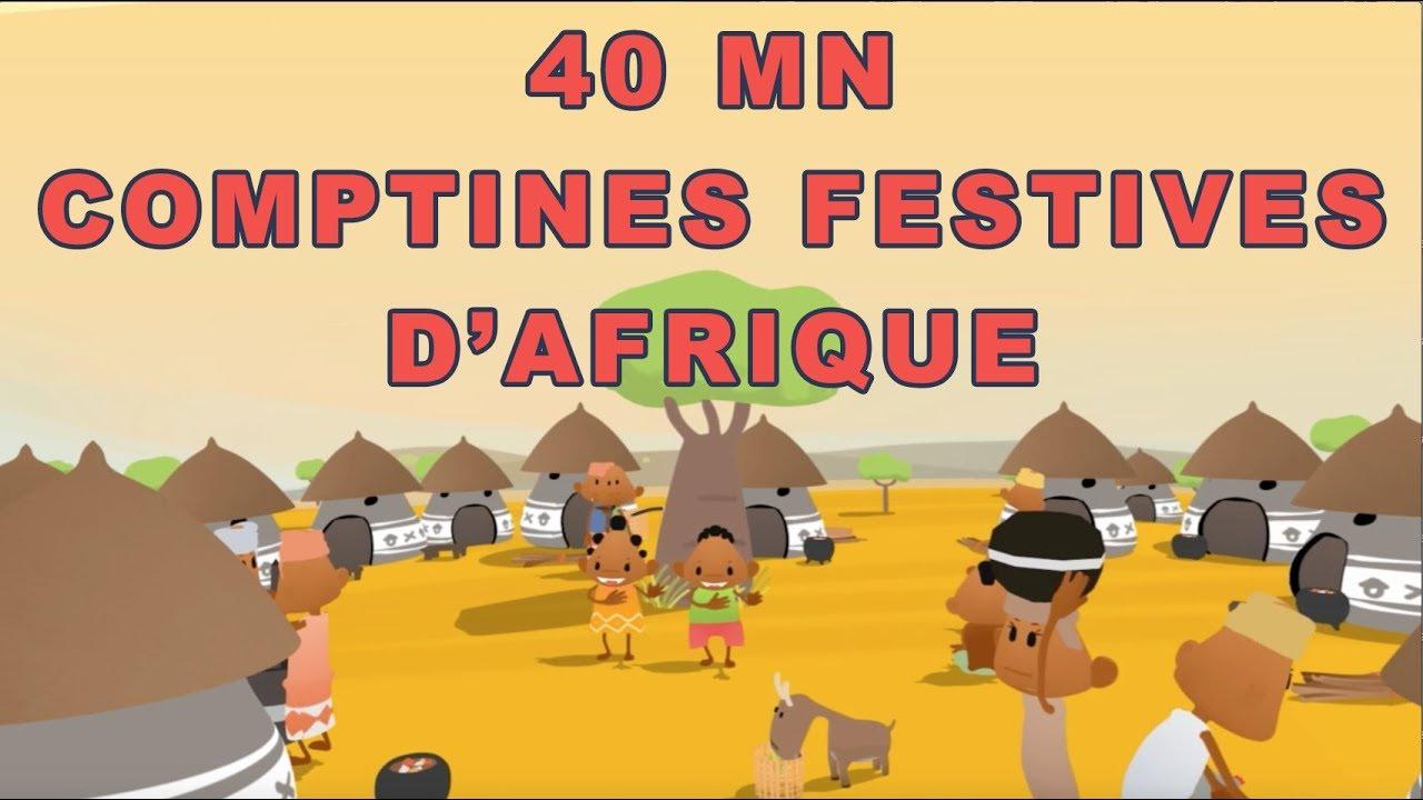Comptines Festives D'Afrique - 40Min De Chansons À Geste serapportantà Contine Pour Les Petit