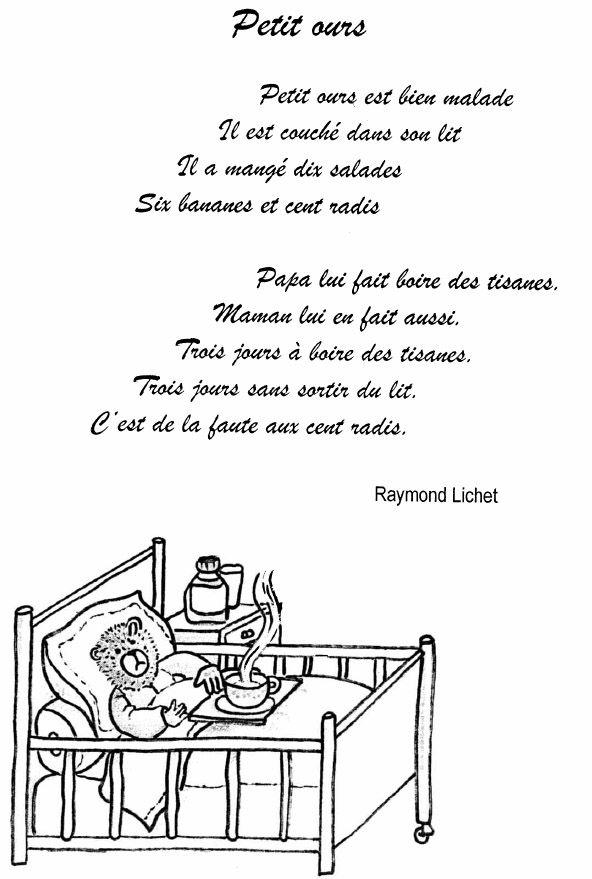 Comptines Ou Poésies De Maternelle Sur Le Froid Et Le avec Vive Les Vacances Poeme Pour Enfant