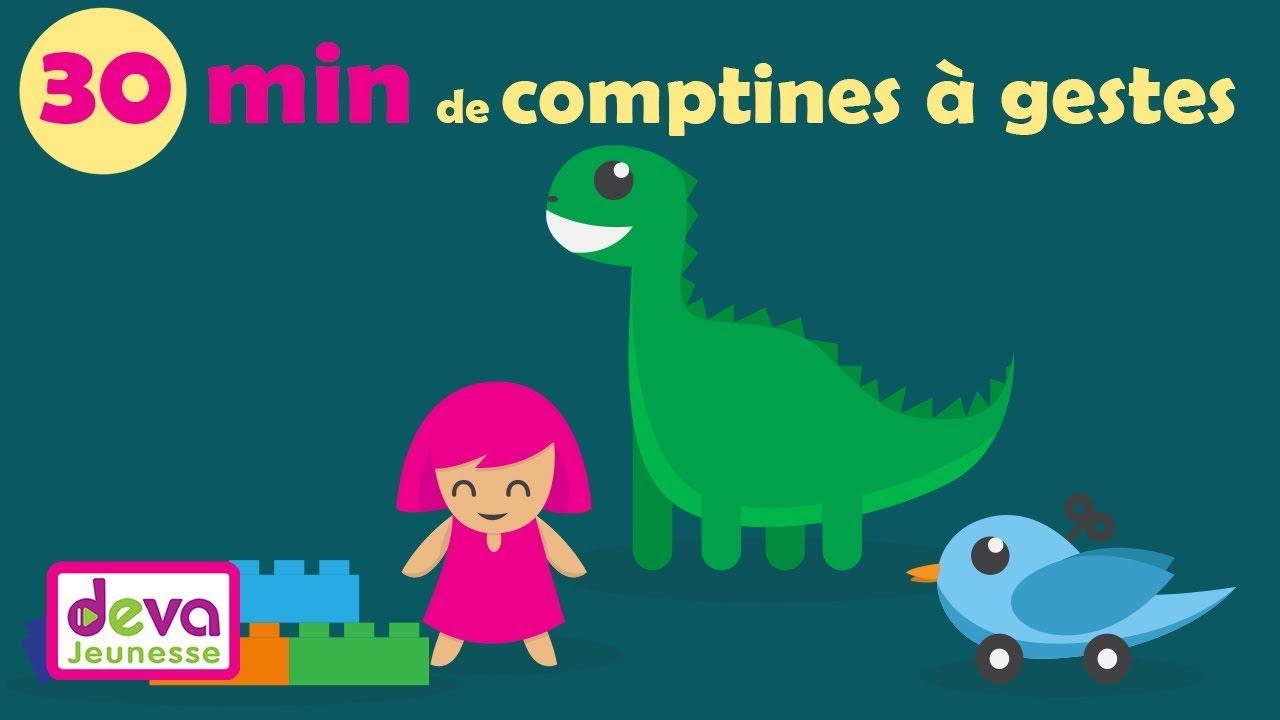 Comptines Pour Maternelles (Dansons La Capucine, Au Clair avec Danson La Capucine