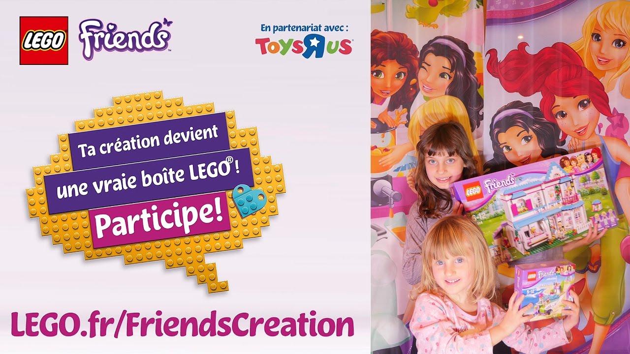 Concours Lego Friends • Ta Création Devient Une Boite Lego encequiconcerne Dessin Animé Lego Friends