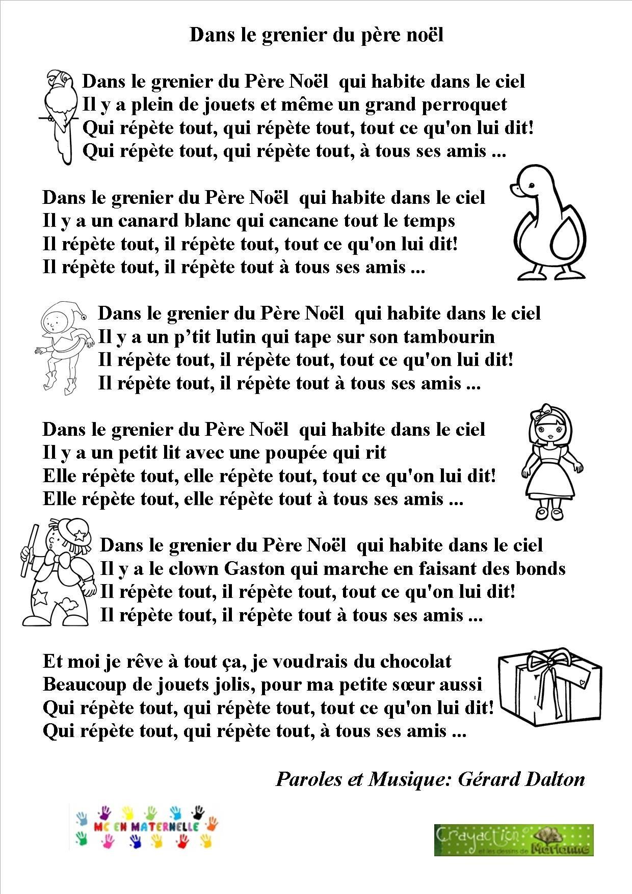 Conservatoire : « Les Vacances Du Père Noël » | Mairie De tout Chansons Du Pere Noel