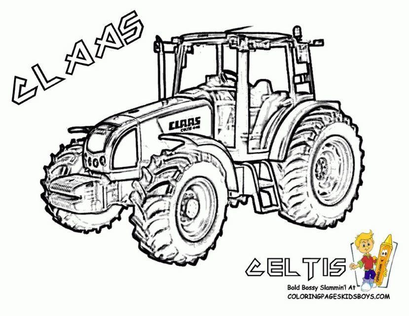 Cool Coloriage Tracteur À Imprimer Gratuit (Avec Images serapportantà Coloriage Tracteur