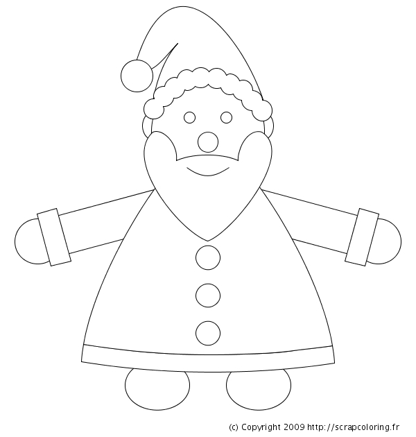Cool Simple Dessin De Pere Noel Facile A Dessiner dedans Comment Dessiner Le Pere Noel