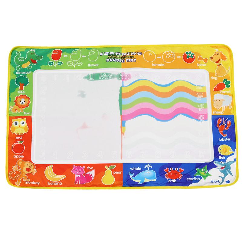 Coolplay Colore Peinture A L'Eau Dessin Tapis Avec 1 Pcs Dessin A L'Eau Sty Q6H2 | Ebay à Tapis Coloriage Eau