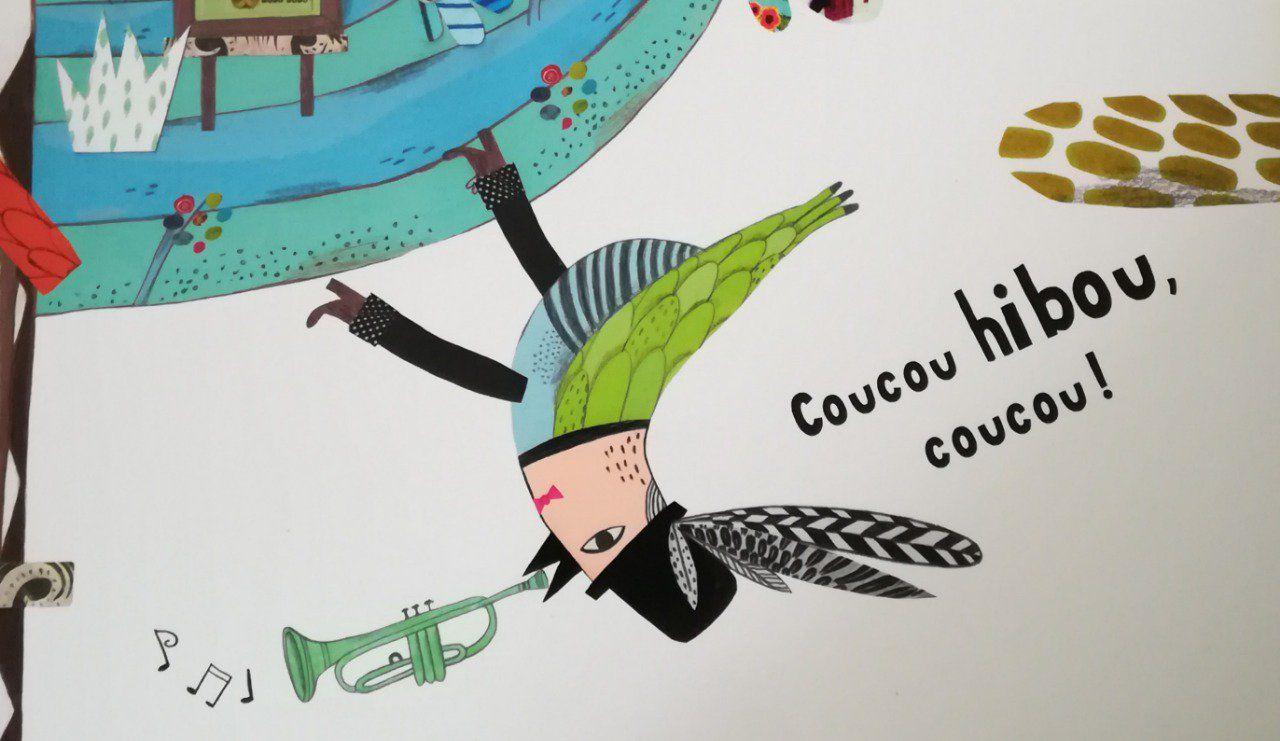 Coucou Hibou ! - Teteenlire.fr à Comptine Coucou Hibou