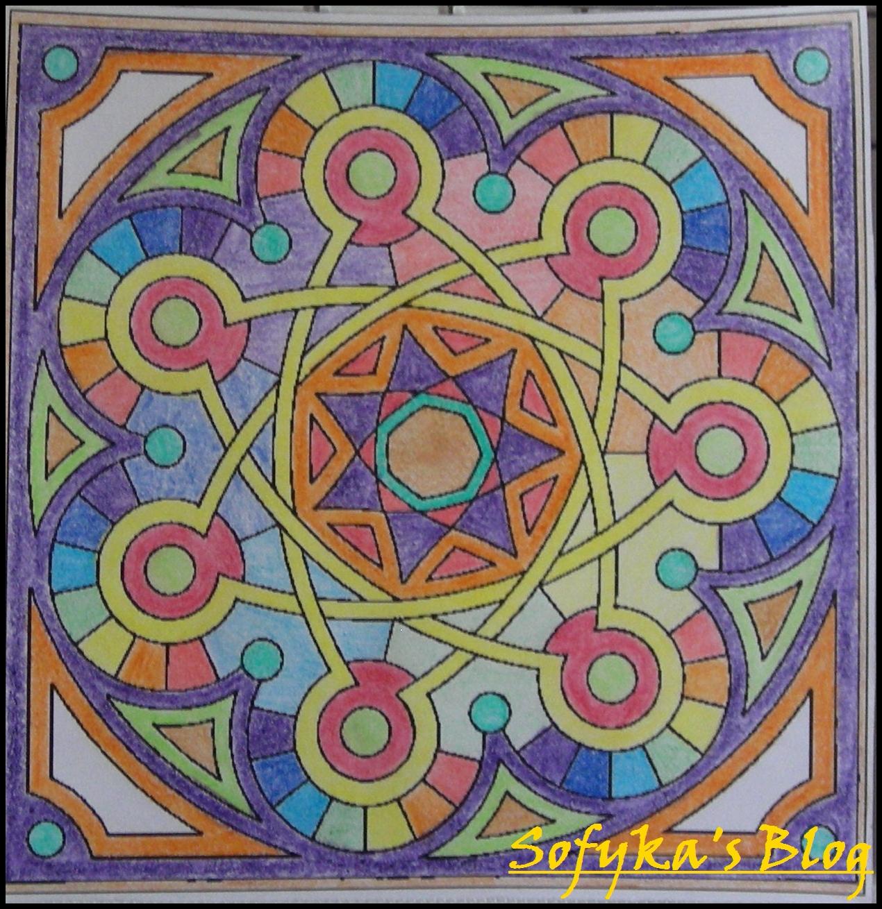 Couleurs | Sofyka'S Blog à Mandala Colorié