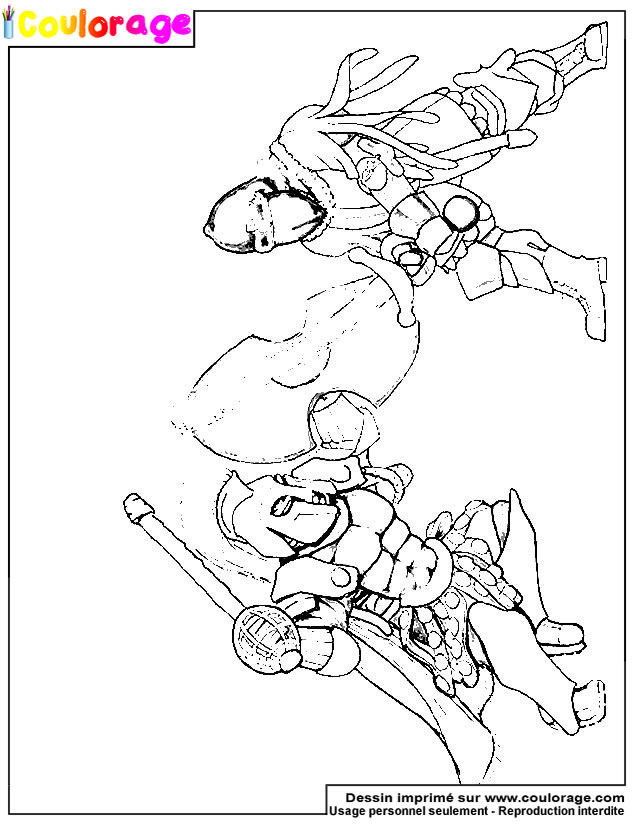Coulorage - Dessin Et Coloriage De Combat À Imprimer destiné Gladiateur Dessin