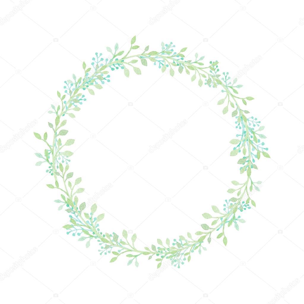Couronne De Fleurs Dessin Aquarelle avec Couronne De Fleurs Dessin