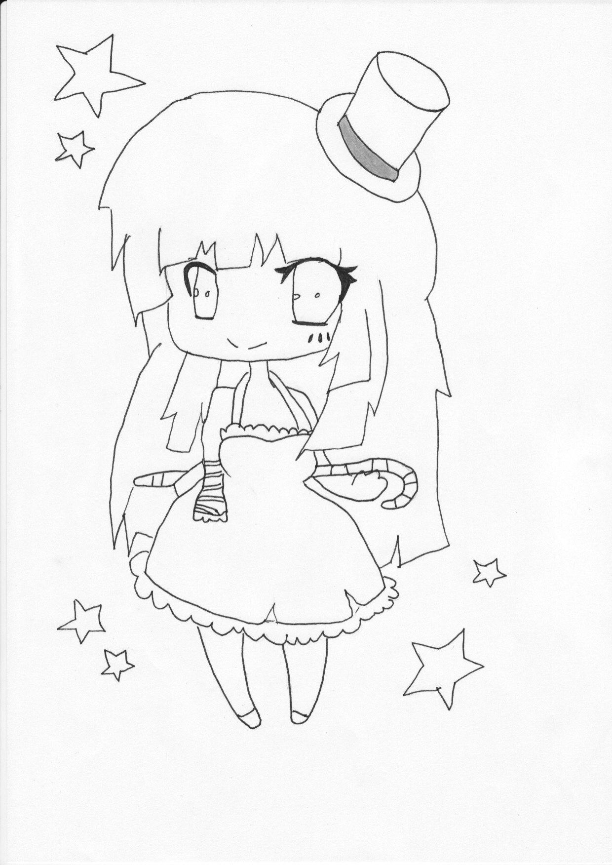 Cousin Coloriage De Miku Hatsune A Imprimer | Meilleur concernant Coloriage Fille Ado A Imprimer