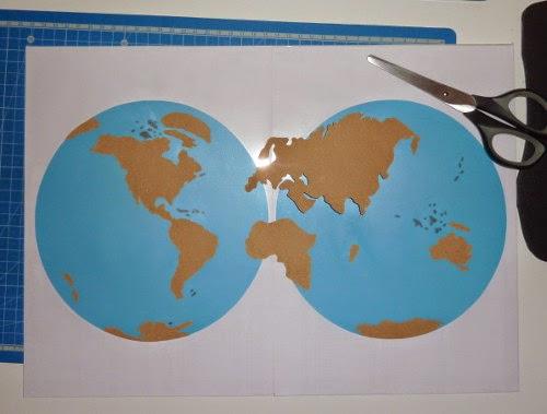 Crapouillotage: Planisphère Lisses & Rugueux à Mappemonde ? Imprimer
