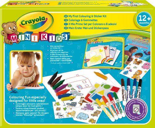 Crayola+Mini+Kids+-+10570+-+Kit+De+Loisir+Créatif destiné Kit Coloriage Enfant