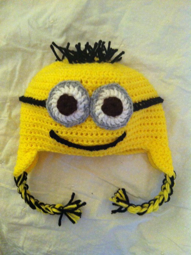 Crochet Minion Hat | Minion Crochet, Minion Crochet Hat pour Créer Un Minion