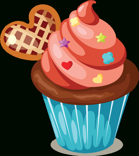 Cupcake : Dessin Couleur encequiconcerne Cup Cake Dessin