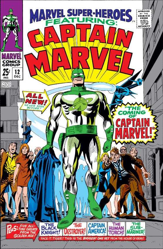 Капитан Марвел (Marvel Comics) — Википедия à Super Héros Fille Marvel