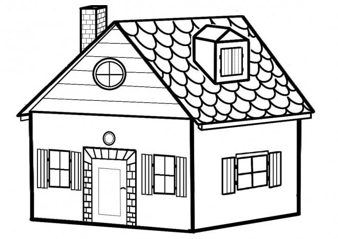 صور رسومات بيوت , علمي طفلك يرسم بيت - هل تعلم serapportantà Dessin Maison Facile