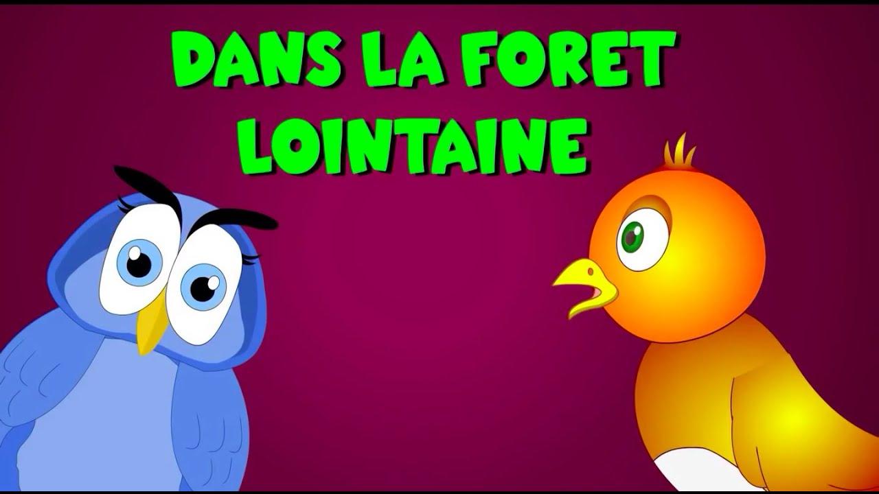 Dans La Forêt Lointaine + 35 Min De Comptines Et Chansons concernant Coucou Hibou Chanson