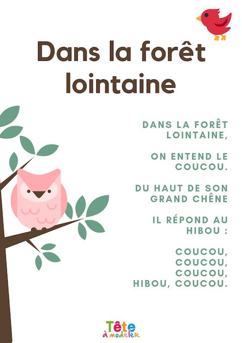 Dans La Forêt Lointaine, La Vidéo à Coucou Hibou Chanson