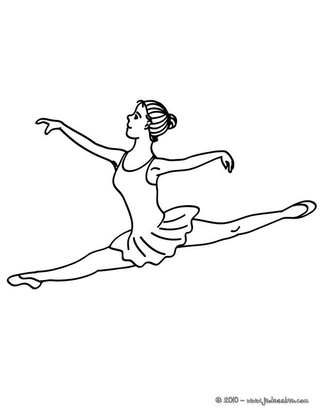 Danseuse Coloriage | My Blog avec Coloriage Danseuse Étoile