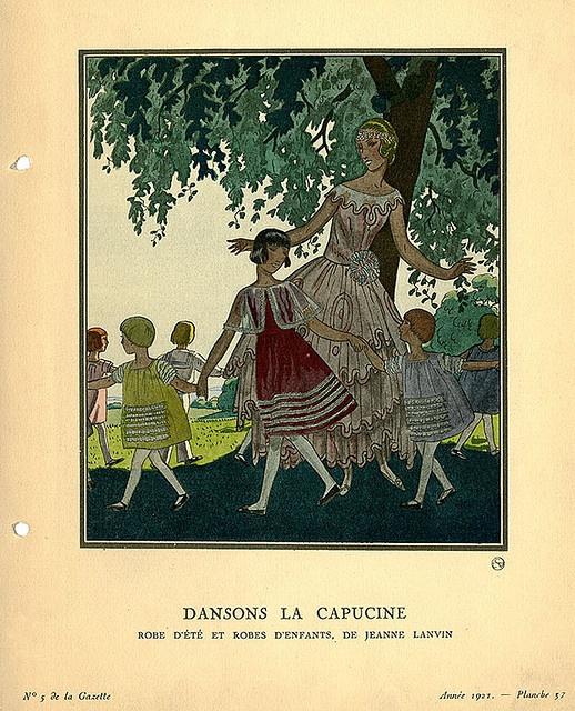 Dansons La Capucine | Dansons La Capucine, Jeanne Lanvin serapportantà Danson La Capucine
