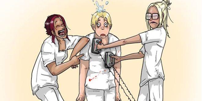 Déchoquage Bd – Dessins D'Urgence à Dessin Humoristique Infirmière