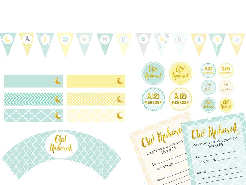 Decoration Aid El Fitr A Imprimer avec Coloriage Aid El Fitr