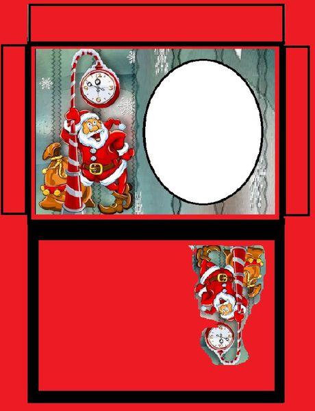 Decoration De Noel A Imprimer Sur Enveloppe tout Enveloppe Pere Noel
