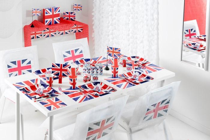 Décoration De Table Sur Le Thème De Londres Et De La serapportantà Photo Anglaise A Imprimer