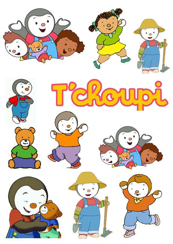Décoration Enfant Stickers / Autocollant Tchoupi | Tchoupi pour Tchoupi Et Doudou