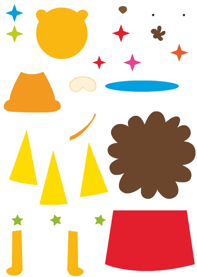 Découpage Et Collage D'Un Lion - Turbulus, Jeux Pour Enfants encequiconcerne Decoupage Pour Enfants