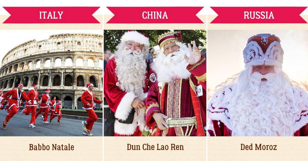 Découvrez Le Nom Donné Au Père Noël Dans Différents Pays pour Nom Renne Pere Noel