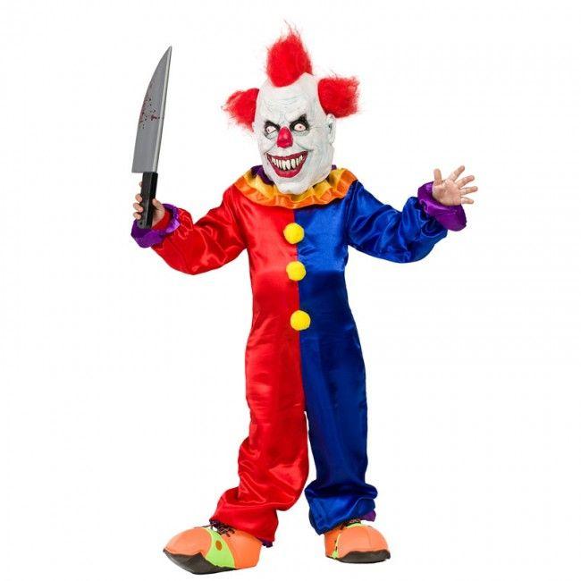 Déguisement Clown Diabolique Garçon En 2019 | Halloween pour Jeux De Clown Tueur Gratuit