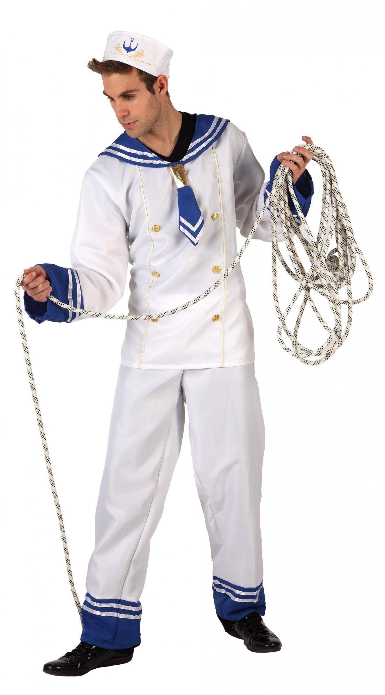 Déguisement Marin Homme : Costume Uniforme Marine Pas Cher concernant Matelot Navigue Sur Les Flots