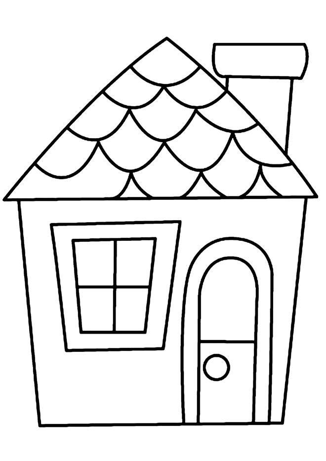 Demandez Le Catalogue | Coloriage Maison, Activités dedans Dessin De Maison Facile