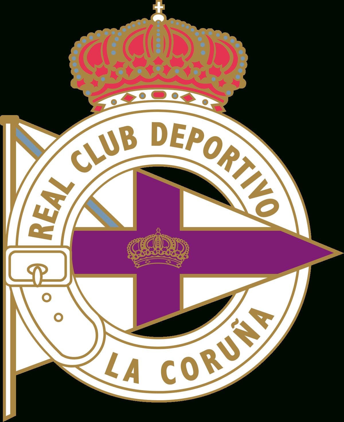 Deportivo La Corogne — Wikipédia destiné Ecusson Des Equipes De Foot