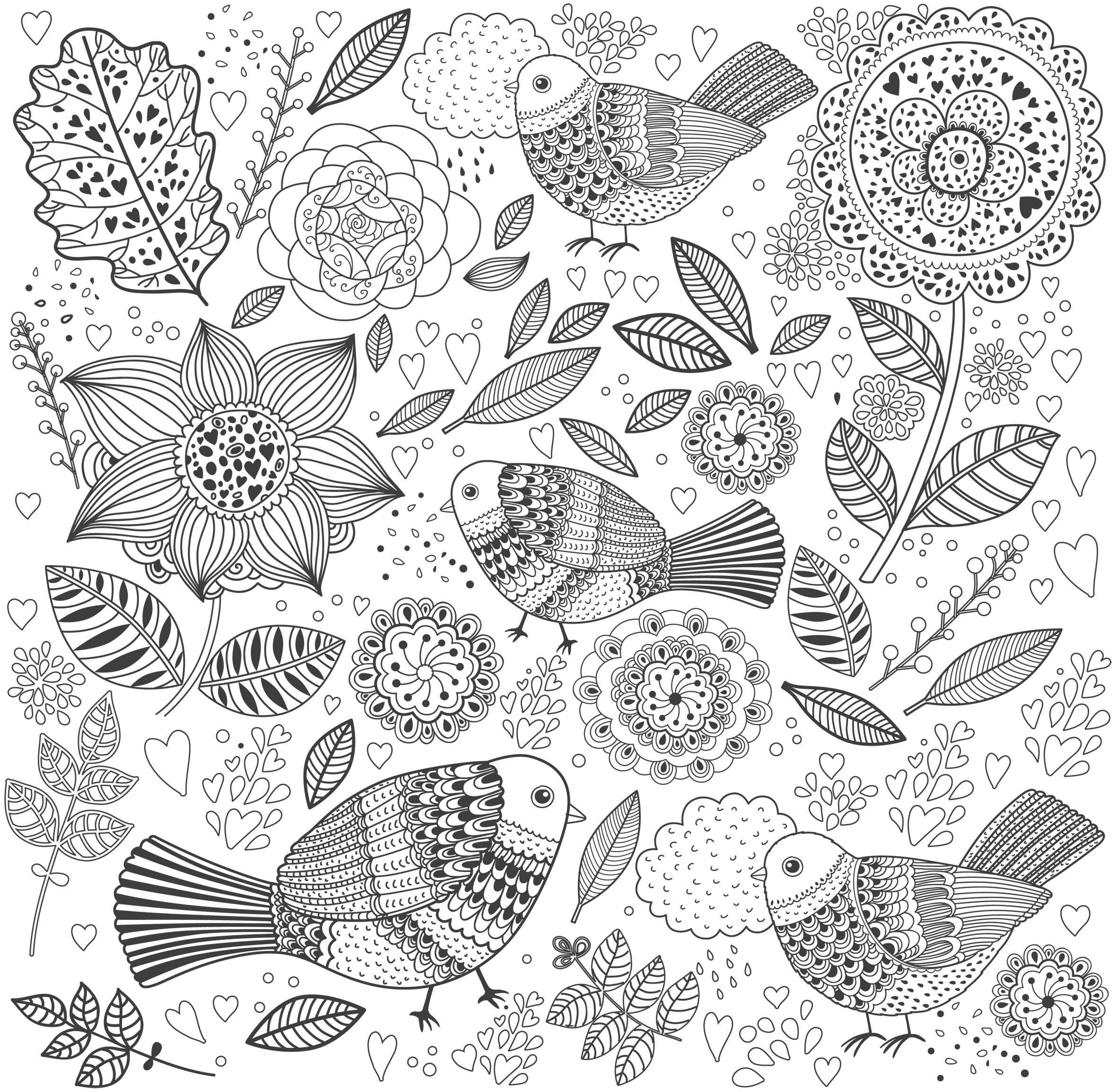 Des Coloriages Anti-Stress En Printable Gratuit | Drawing avec Coloriage Zen Magazine