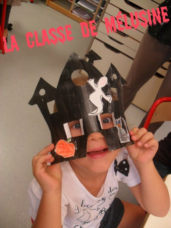"""Des Masques """"Maisons"""" De Sorcières Ouhhhhhh! - La Classe concernant La Sorciere Rabounia"""