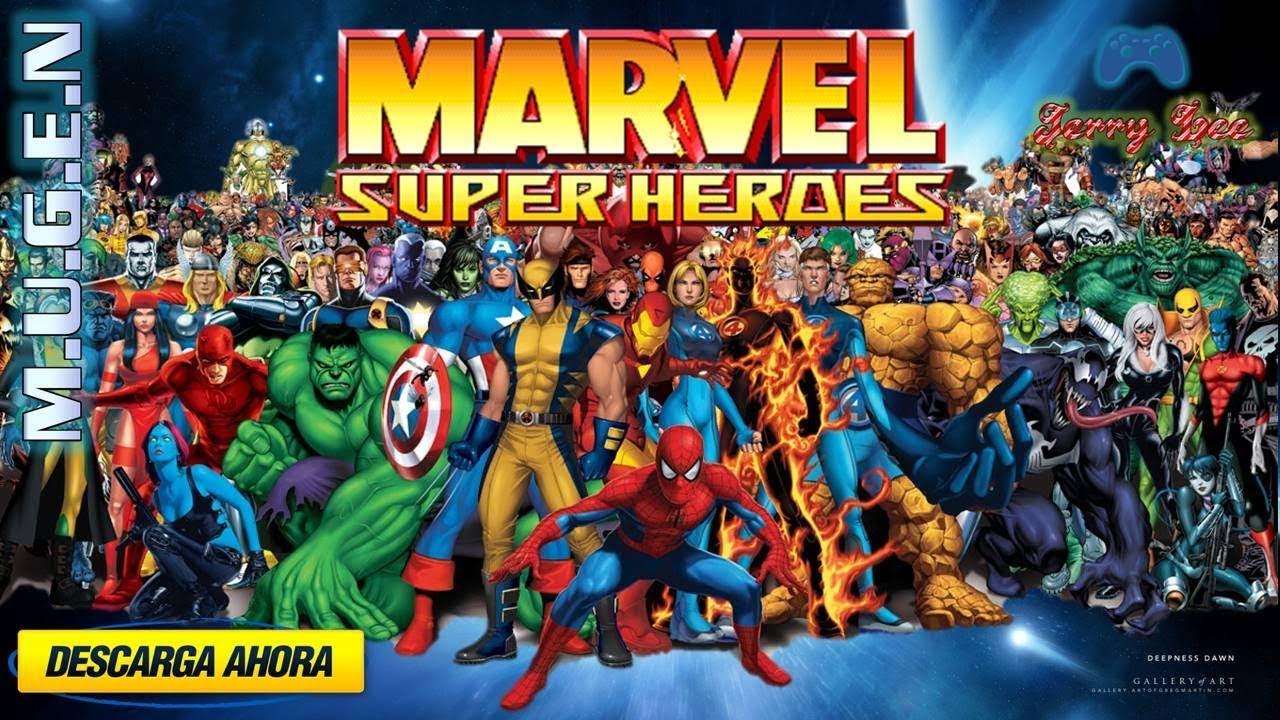 Descargar Marvel Super Heroes (Arcade) Portable Para Pc encequiconcerne Super Héros Fille Marvel