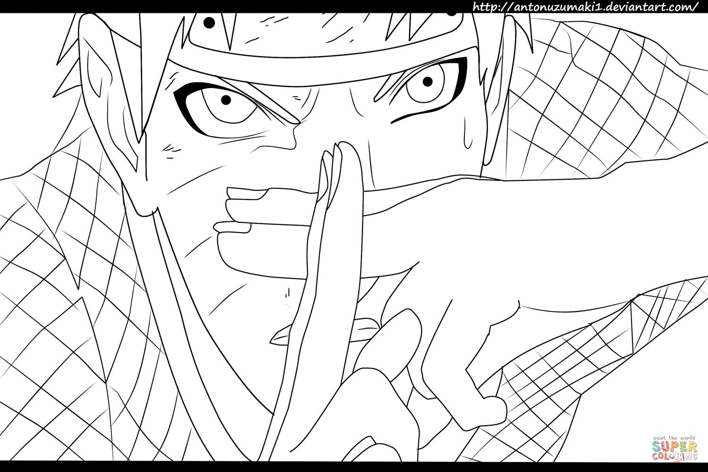 Desenho De Naruto 697 Naruto Versus Sasuke Para Colorir serapportantà Coloriage Naruto Sasuke