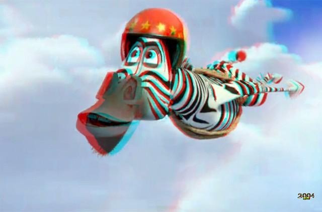 Desktop Madagascar 3 Flying Marty Le Zebre Volant En 3D dedans Zebre Dans Madagascar
