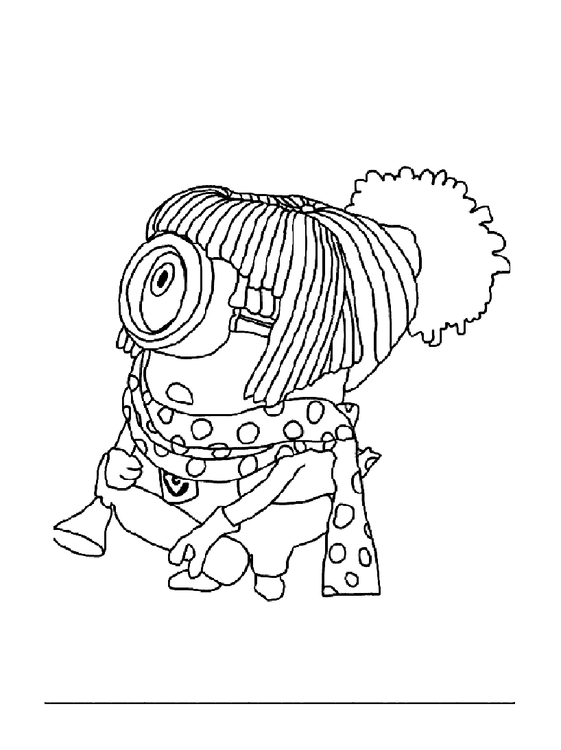 Despicable Me To Download - Despicable Me Kids Coloring Pages avec Coloriage A Imprimer Minion Gratuit