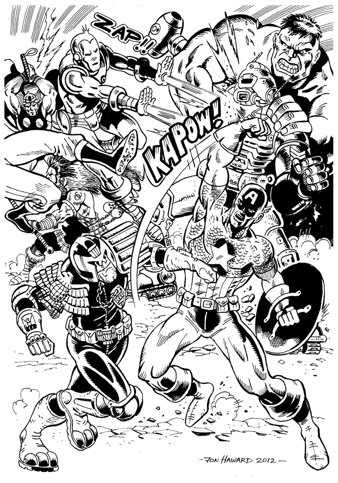 Dessin à Colorier En Ligne Avengers Gratuit dedans Coloriage Avengers