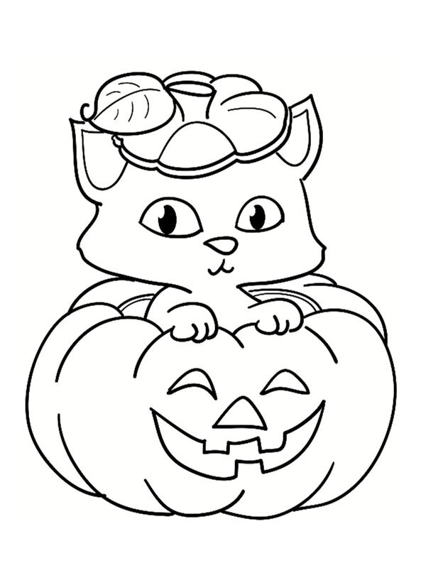 Dessin À Colorier Gratuit Citrouille Halloween serapportantà Dessin A Colorier Halloween Gratuit