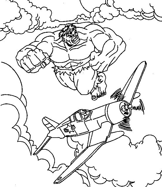 Dessin à Colorier Magique Hulk dedans Coloriage Hulk