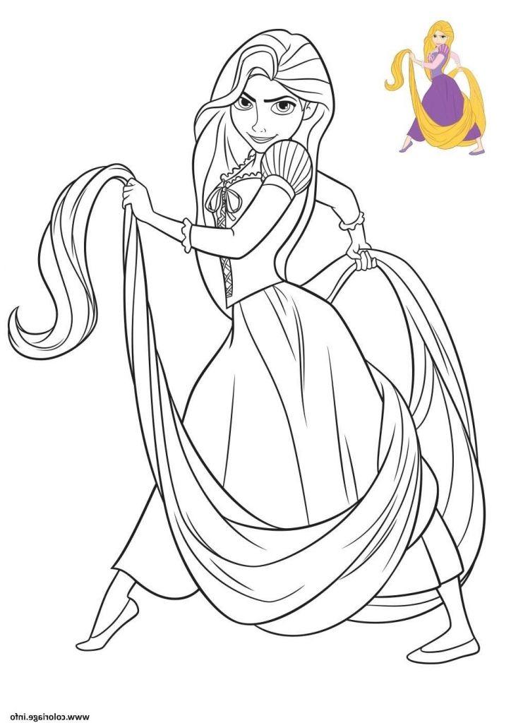 Dessin À Colorier Princesse Disney Nouveau Photos dedans Dessin Princesse Raiponce