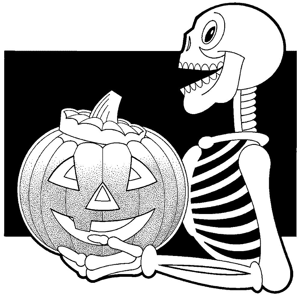 Dessin A Halloween à Coloriages Halloween À Imprimer Gratuitement