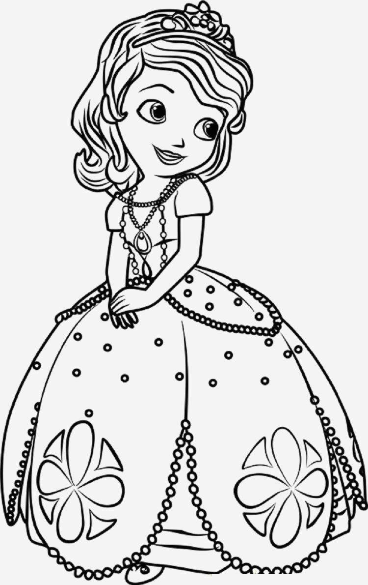 Dessin À Imprimer Princesse Sofia->Dessin À Imprimer concernant Dessin Animé Princesse Sofia