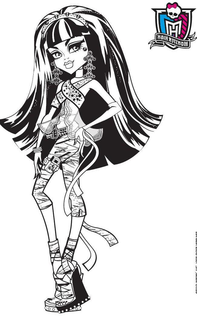 Dessin Animã© Jardin - Dernier B serapportantà Coloriage Gratuit Monster High À Imprimer ...